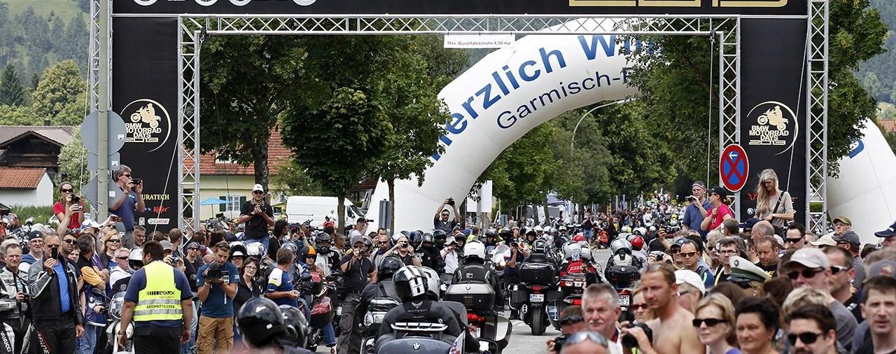 Die 15. BMW Motorrad Days vom 3. – 5. Juli 2015
