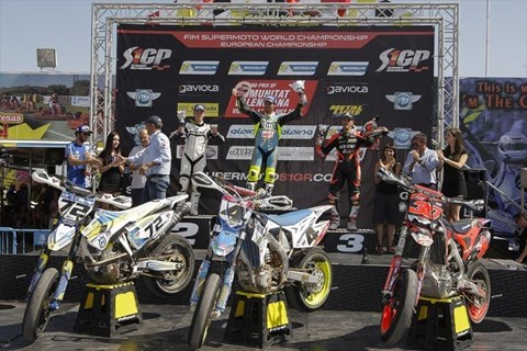 Supermoto WM in Spanien