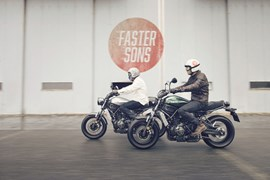 Yamaha XSR700 Faster Sons 2015