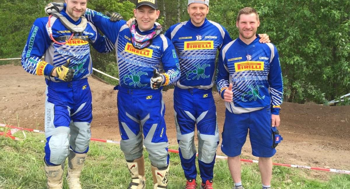 Platz 2 und 5 für Team MotorradreifenDirekt.de in Ansbach
