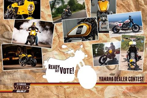 Yamaha Yard Built Wettbewerb 2015