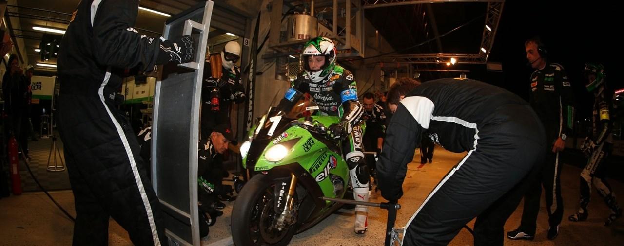 Kawasaki beim 8-Stunden-Rennen in Suzuka 2015