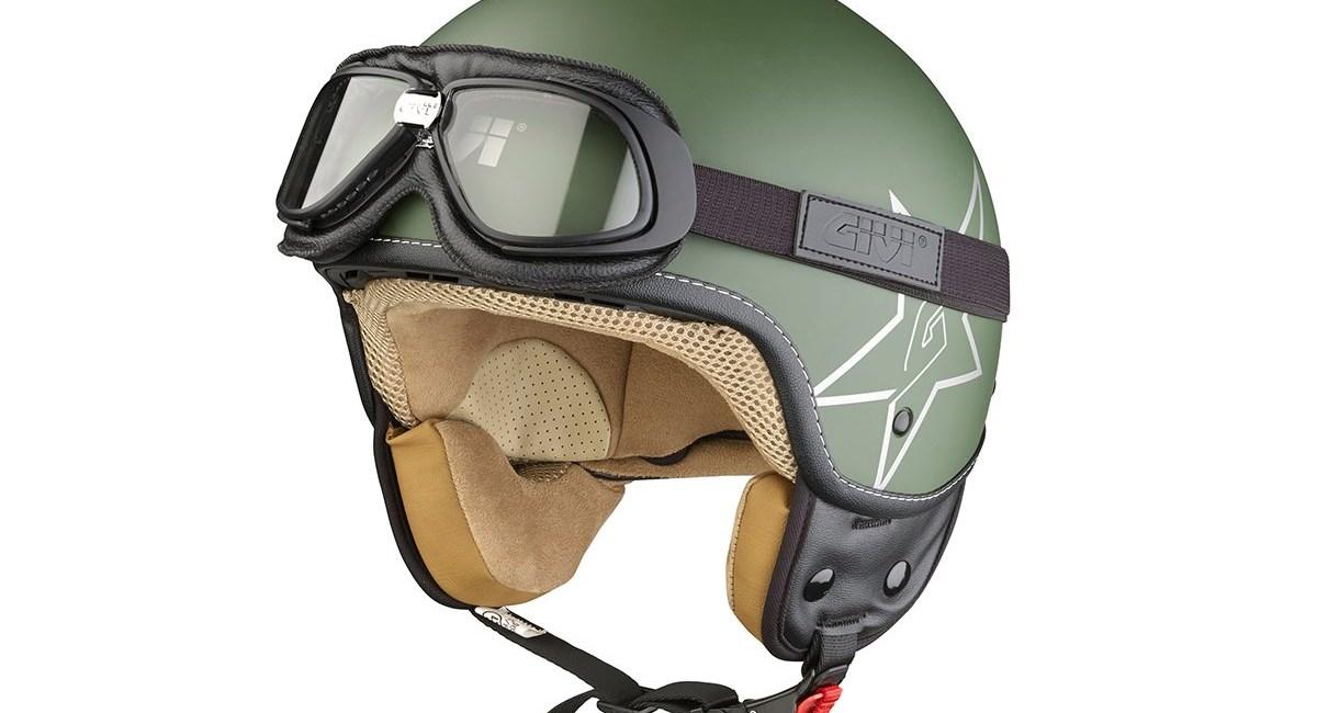 JET-Helm mit Reisebrille von Givi
