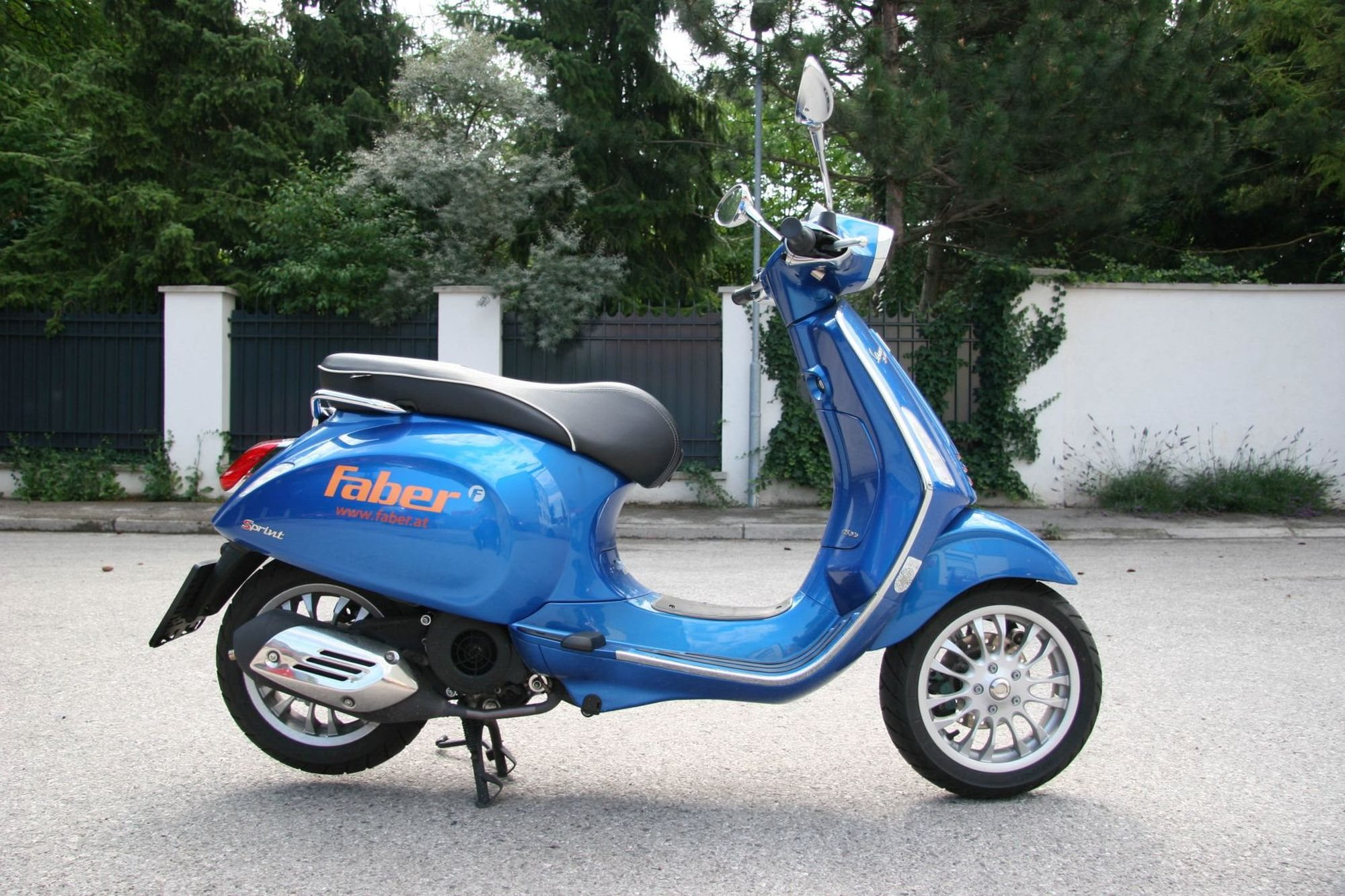 Vespa Sprint S 125 Test