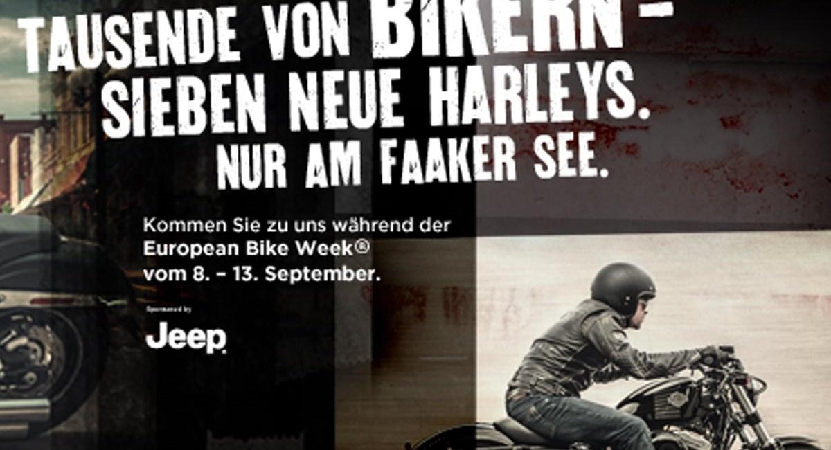 Harley-Davidson präsentiert neue Modelle am Faaker See