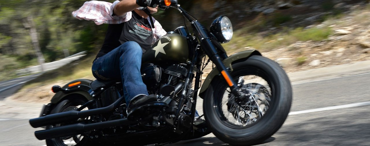 Harley-Davidson Fat Boy S und Slim S Test 2016