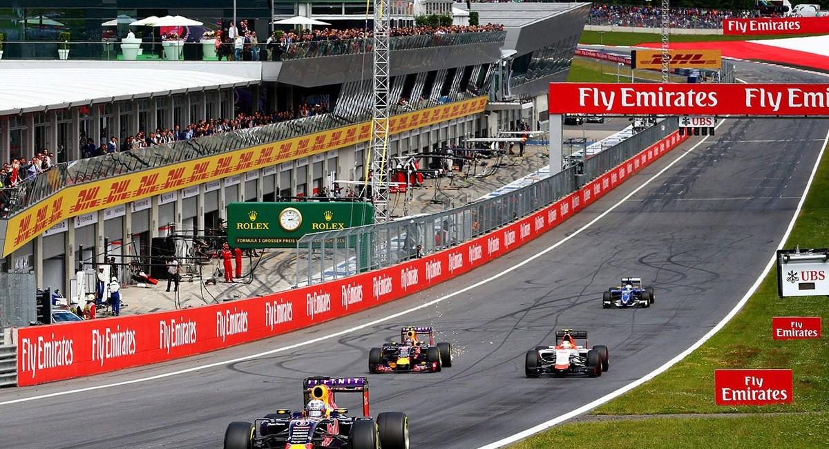 Formula 1 Grosser Preis von Österreich 2016 - TICKETS