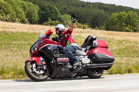 Honda Gold Wing 40th Anniversary 2015 Test