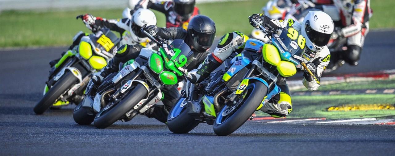 Triumph Street Triple-Cup Finale Most 2015