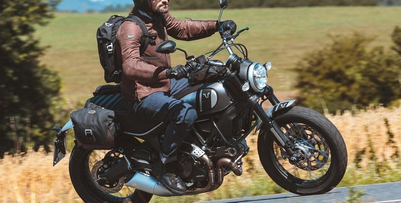 SW-Motech Legend Gear Gepäcksystem für Retro Bikes 2016 mit Video
