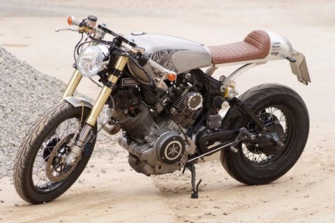 Handcrafted: Exklusive Yamaha XV 750