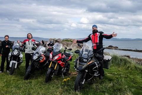 4 Reiseenduros in Nordirland