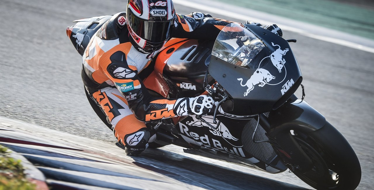 KTM RC16 MotoGP Test