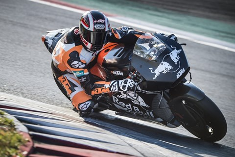 KTM RC16 MotoGP Test