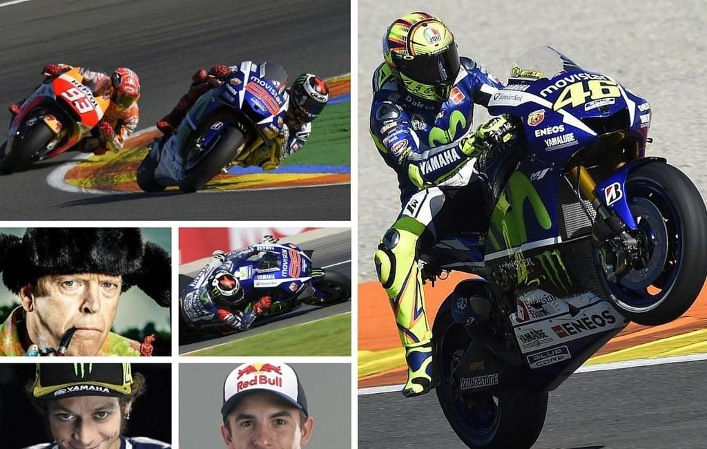 MotoGP Valencia Rossi vs. Marquez