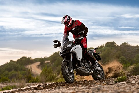 Ducati Multistrada 1200 Enduro und Pikes Peak 2016