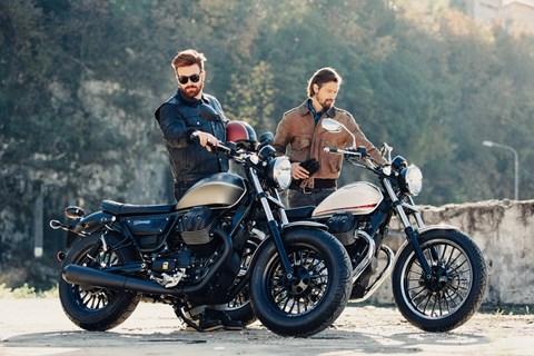 Moto Guzzi V9 Roamer und V9 Bobber