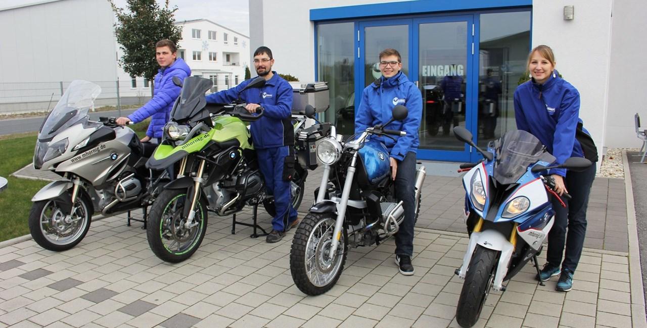 Neues von Hornig für BMW Motorrad