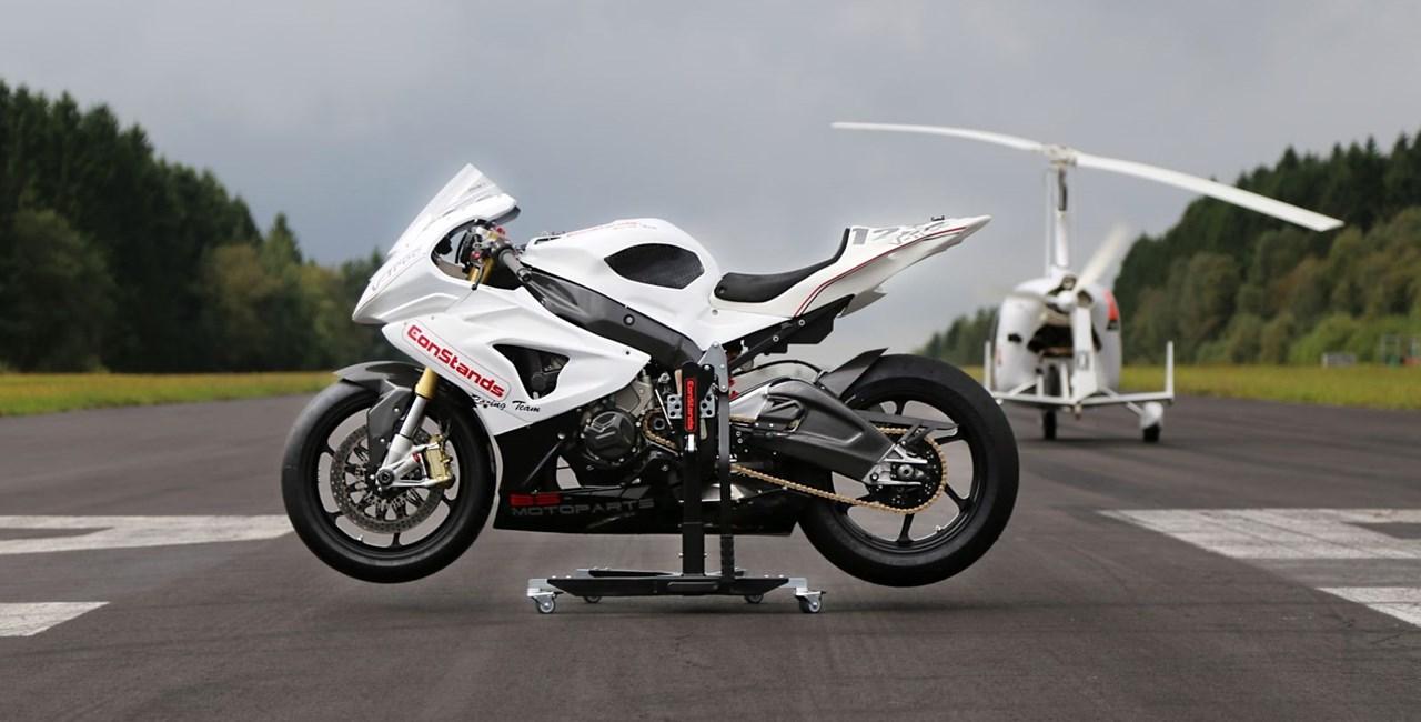 ConStands Power Motorradzentralständer