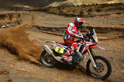 Rallye Dakar Etappe 4