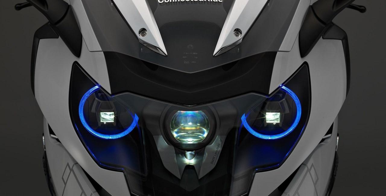 BMW Laserlicht auf der K 1600 GTL