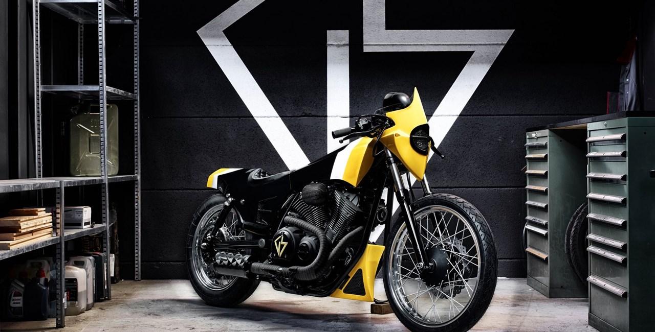 """Yard Built-Projekt Yamaha XV950 """"ULTRA"""" 2016"""