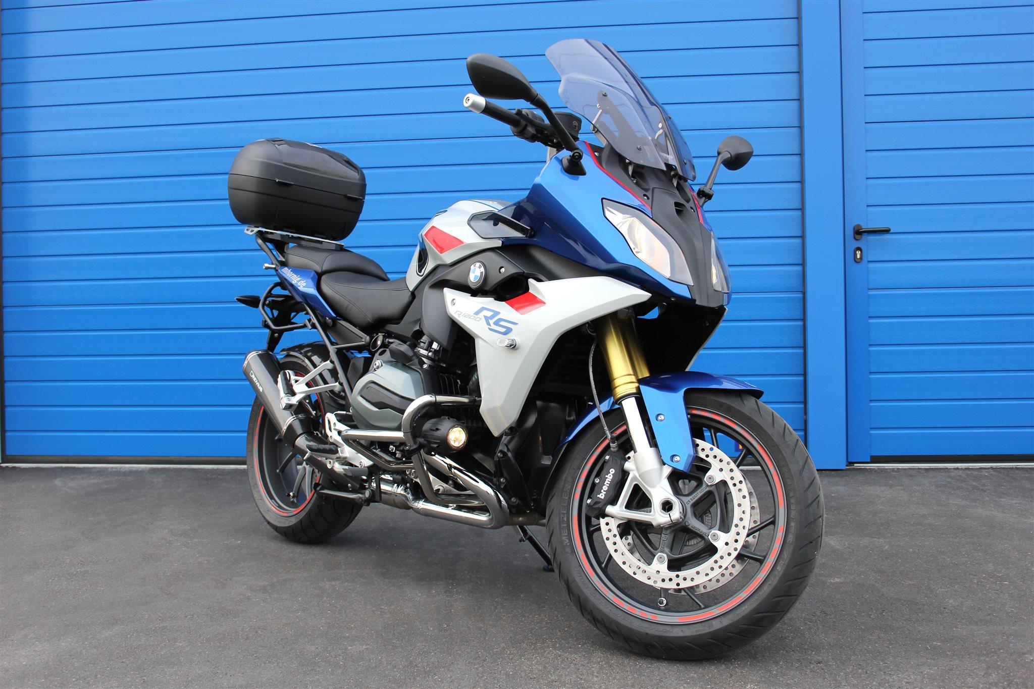 Bmw R1200rs Umbau Von Hornig Motorrad News
