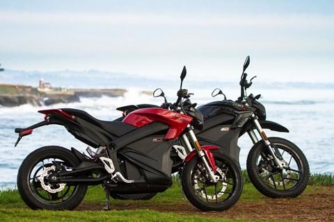 Zero Elektro Motorräder
