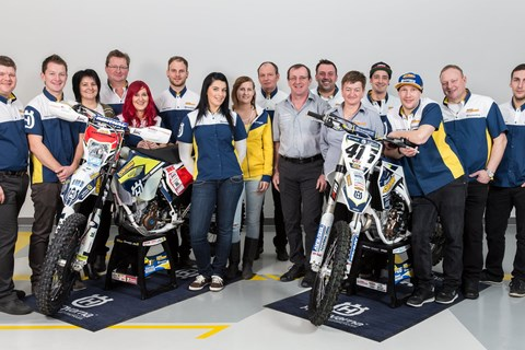 Damianik Husqvarna Team 2016