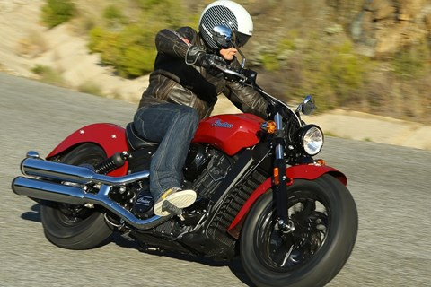 Indian Scout Sixty Test