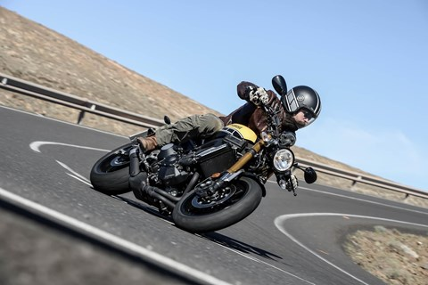 Yamaha XSR900 Test