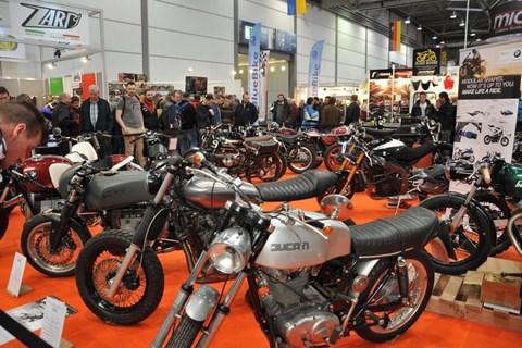 Motorrad Messe Leipzig 2016