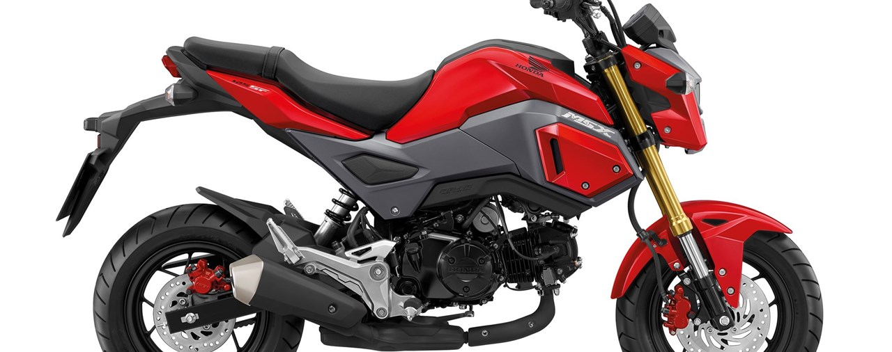 Honda MSX125 im neuen Mini Streetfighter-Look - Modellnews
