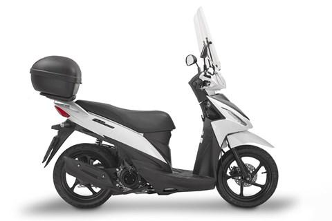 GIVI präsentiert neue Fahrzeugausstattung für Suzuki Adress 110
