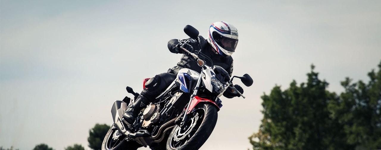 Honda CB500F 2016 Test