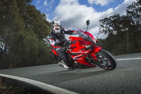 Honda CBR500R 2016 Test