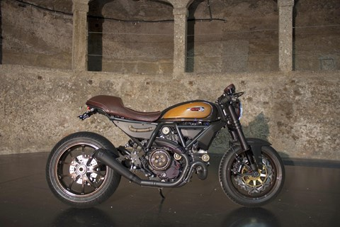 Ducati Racing Old School Scrambler RR