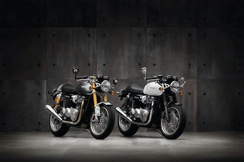 Neue Thruxton und Thruxton R von Triumph