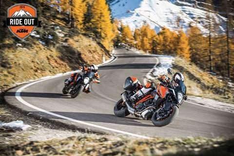 Starte gemeinsam mit KTM in die neue Motorradsaison!