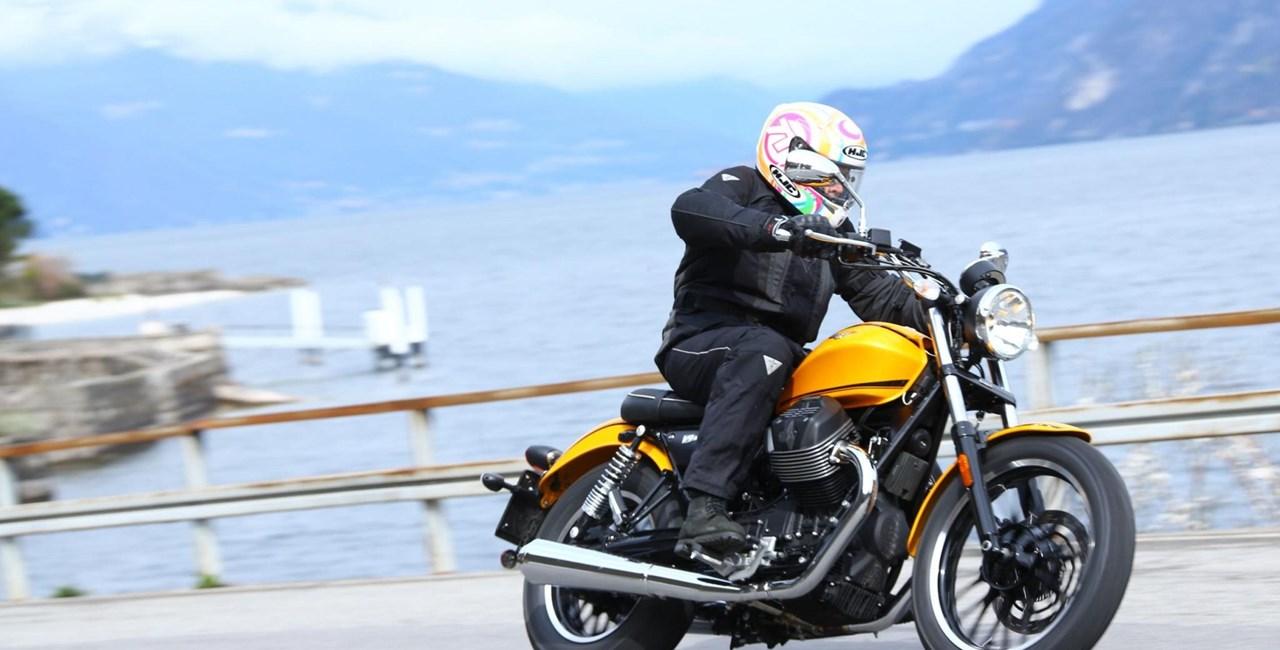 Moto Guzzi V9 Test