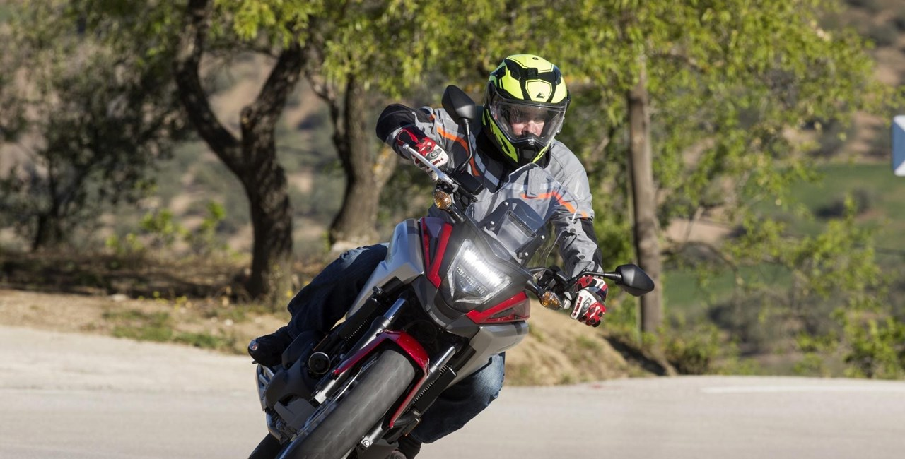Honda NC750X 2016 Test