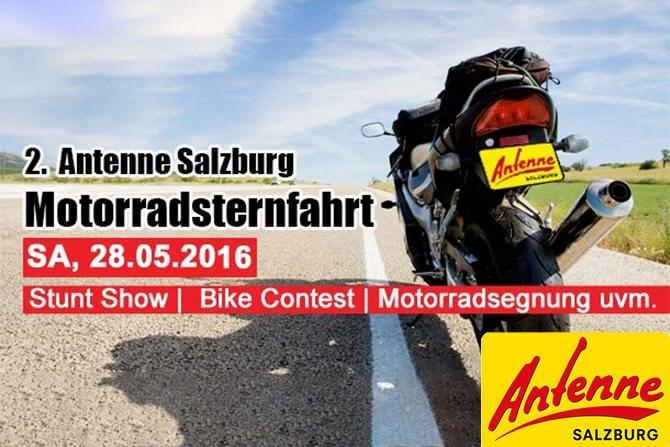 Die 2. Antenne Salzburg Motorradsternfahrt