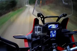 Honda Africa Twin Video Log