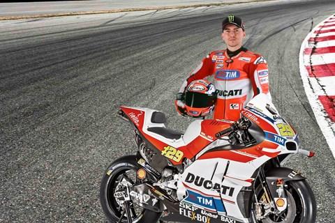 Lorenzo ab 2017 von Yamaha zu Ducati