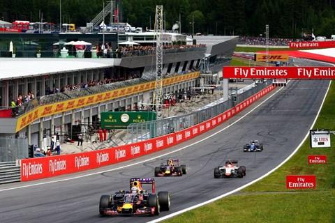 Formel-1-Spektakel 2016  in Spielberg