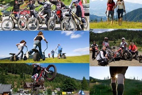 Urlaubs und Motorradparadies Salzstiegl