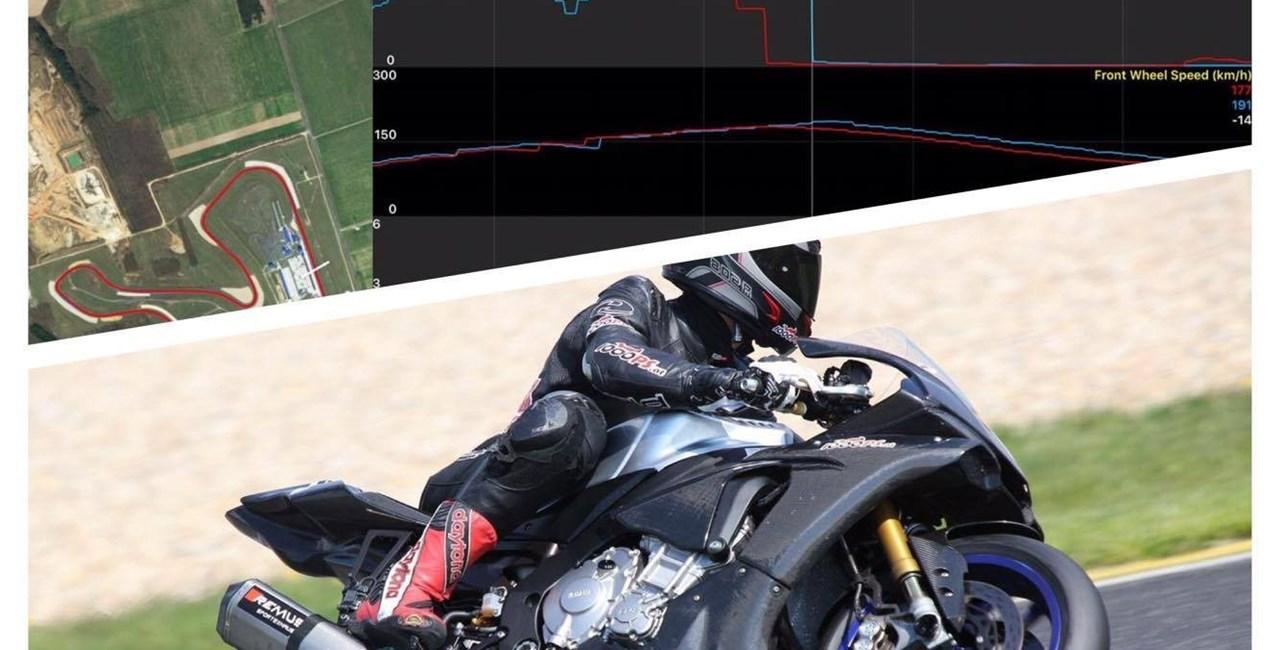 Datarecording Analyse Yamaha R1M