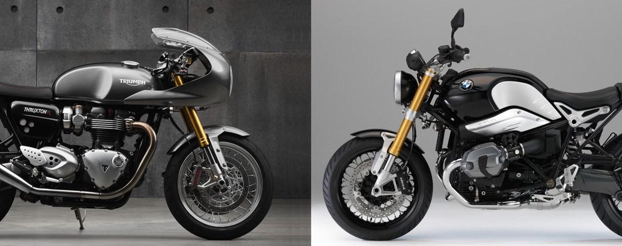 Triumph Thruxton Vs Ducati Monster