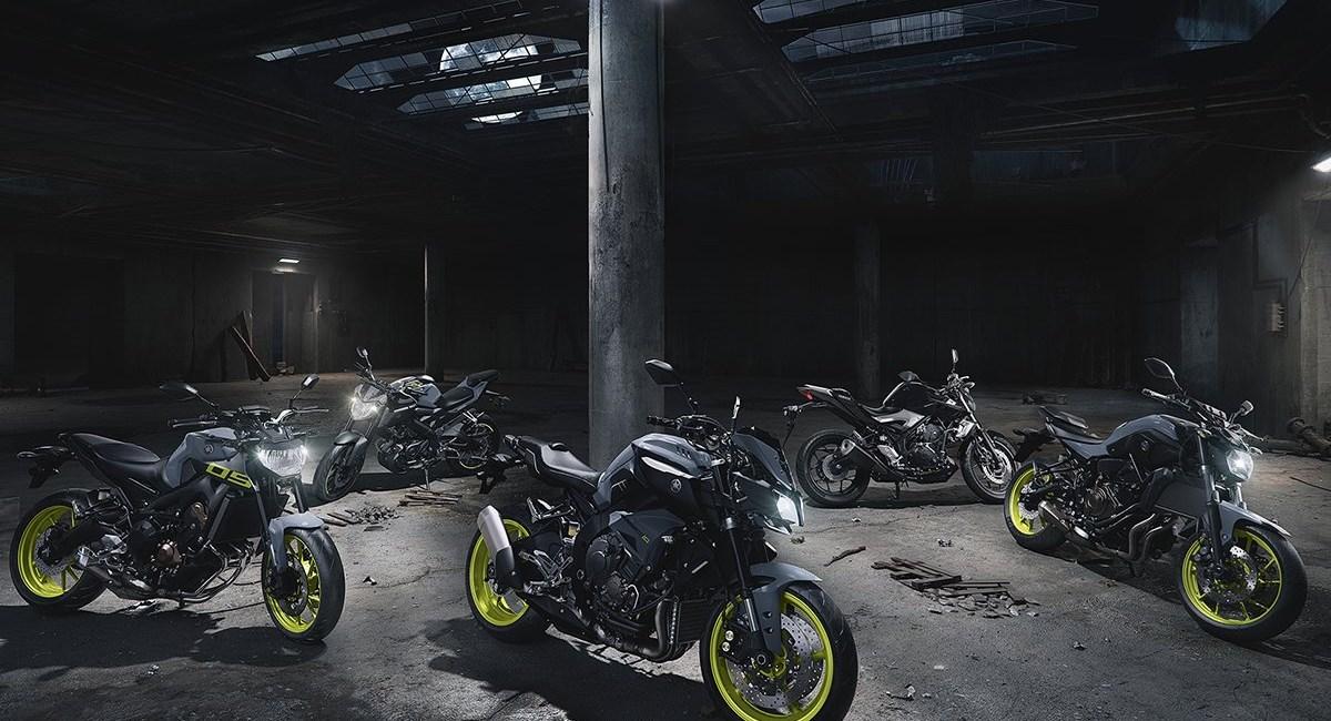 Spektakuläre Bike-Roadshow von Yamaha in der Ottakringer Brauerei