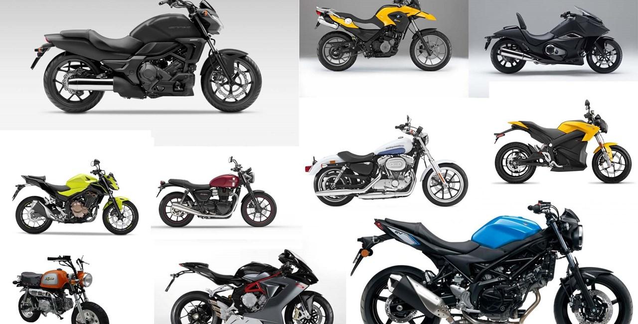 10 Motorräder mit niedriger Sitzhöhe 2016 mit Video